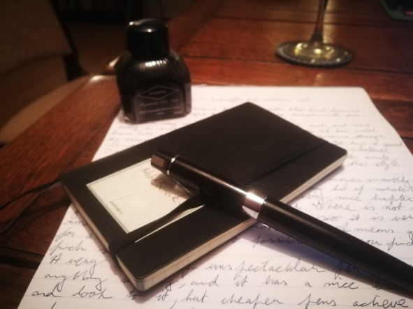 Sheaffer 300 Fountain Pen Review Capped